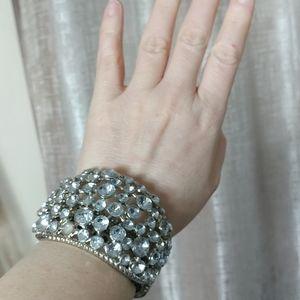Designer Massive Crystals Bracelet